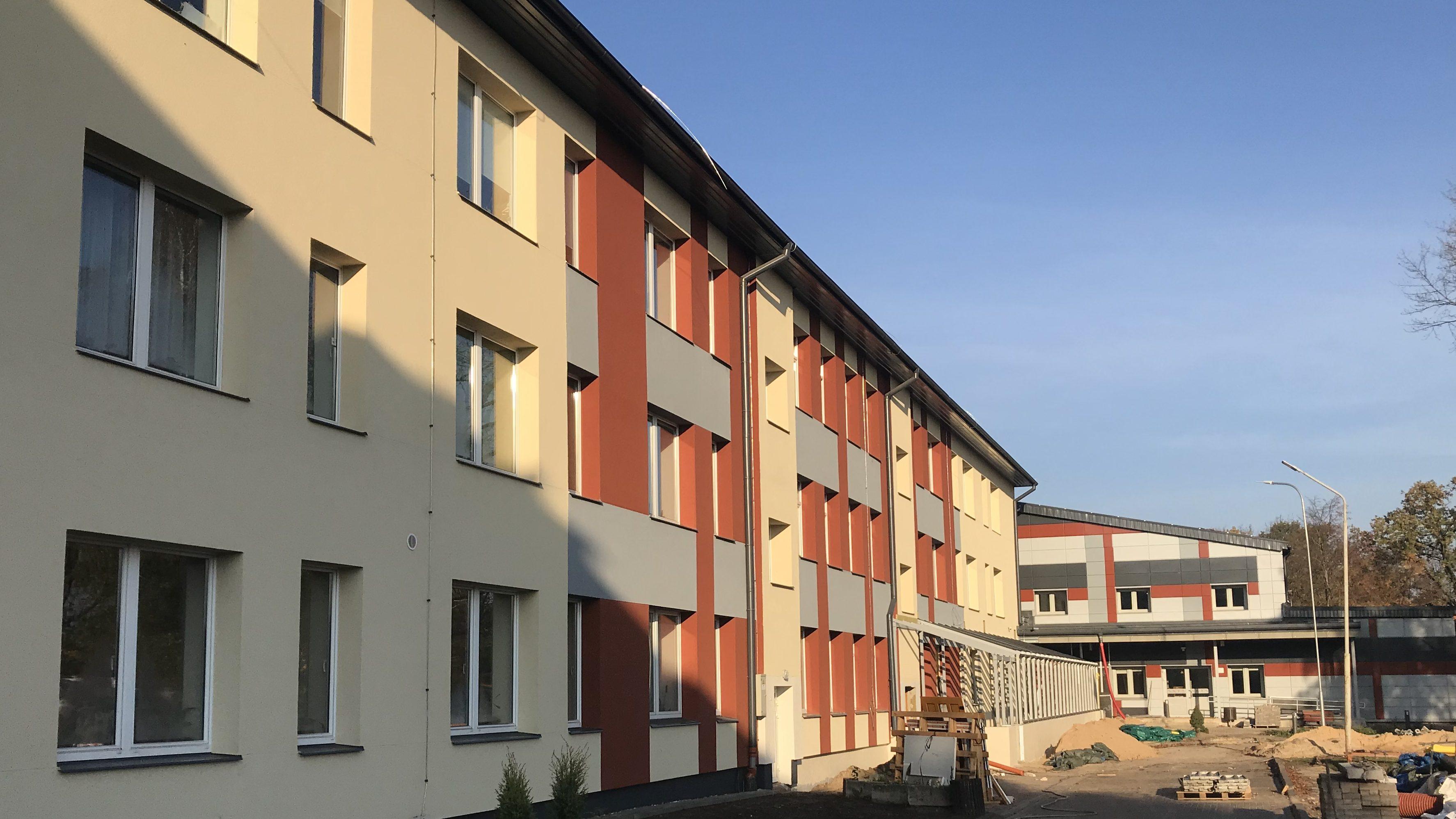 Jelgavas 2. internātpamatskolas rekonstrukcija | otrā kārta
