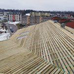Sigulda Nurmuižu 33 jumta siltināšana un nonaiņa, ventilācijas rekoperatoru uzstādīšana